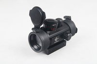 Wholesale Tactical Hunting Holographic x mm Airsoft Cross Dot Red Green Dot Sight Rifle Scope mm Rail Mount