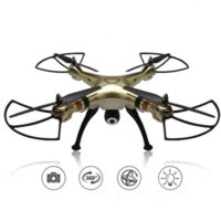 Wholesale Syma X8HW WIFI FPV Real time RC Helicopter Headless Drone With MP HD Camera Ghz Axis Gyro Remote Control Quadcopter