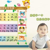 baby room letters - Removable Wall Stickers three generations of the children s room baby room table AM6001 Figure learning letters