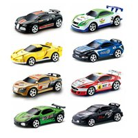 Wholesale New Mini Coke Can RC Radio Remote Control Micro Racing Car Hobby Vehicle Toy Birthday Gift Good Quality