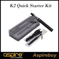 k2 - 100 Original Aspire K2 Quick Starter Kit ml K2 Tank mah K2 Rechargeable Battery Micro USB Charging Port Portable Kit ohm BVC Coil