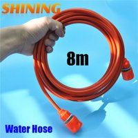 Wholesale FT m Orange Color PU Car Washing Garden Water Hose Pipe With Quick Connector High Pressure Car Washer Hose Pipe mm x mm