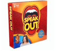 Wholesale Speak Out Game board game interesting party game KTV party Game Christmas Toy Game cards speak out