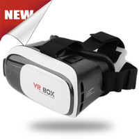 Wholesale In Stock Vr D Headset Cardboard VR BOX Version VR Virtual Reality D Glasses For Free ship