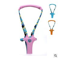 baby bouncer blue - 3 color children vest type Harnesses Leashes Toddler Safety Harness Baby Toddler Harness Bouncer Jumper Help Learn To Moon walk
