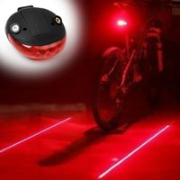 big bike accessories - Waterproof Rear bicycle light Have Cool Flash Mode Rear Led Bike Lights Safe Warning LED Laser bike accessories