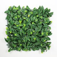 Wholesale 12 Pieces quot x quot Outdoor Plastic Garden Grass Fence Sythenic Artificial Shurbs Garden Ornaments Artificial Boxwood Hedges Panels