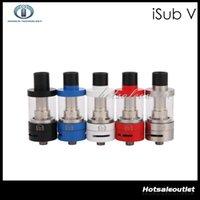 best iv - Innokin iSub V Sub Ohm Tank Quick Clean Top Filling Large ML Pyrex Glass Tank Best Match for Coolfire IV TC100 Mod Orginal