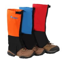 Wholesale Pair Outdoor Waterproof Durable Mountaineering Snow Cover Foot Sleeve New Arrival