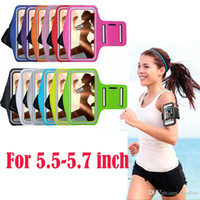 bands hand bag - 100Pcs Sports Arm Band Hand Bag Phone Case For iPhone s Plus Case For Samsung S6 S7