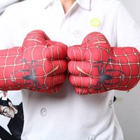 Wholesale Supersize Children Adult Activity Toys inch Soft Plush Boxing Gloves Cartoon Character Smash Fists Gloves For Decompression