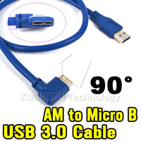 Laptop laptop generic - Newest Blue Generic USB A Male AM Plug to BM Micro B Pin Male Left Degree Angled Cable Adapter Connector cm Converter