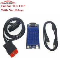 Wholesale With Nec Relays version software obd2 car scanner tcs CDP Pro Plus as snooper For cars and trucks no bluetooth