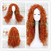 animated wigs - Animated movie of Brave MERIDA cosplay wig a wig cap