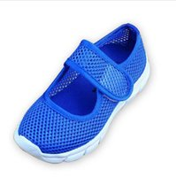 Wholesale Candy Color Summer Breathable Mesh Children Shoes Single Net Cloth Kids Sports Shoes Casual Boys Shoes Girls Sneakers