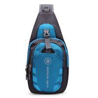 Wholesale Handbags Men Women Waterproof Sport Chest Pouch Bag Shoulder Sling Bag Nylon Running Outdoor Cross Body Bags New Free Ship
