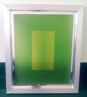 aluminium screen mesh - Printing Plate Frame Aluminium Alloy Frame mm T White Mesh Mesh Frame Net Frame Tetragon Screen Printing Machine Part High strength