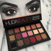 beauty colors - 2016 HUDA Beauty eyeshadow palette colors Shimmer Matte Eyeshadow Pro Eyes Makeup Cosmetics eyeshadow DHL Free