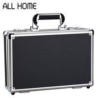 Wholesale Portable lockbox A4 file safe Multifunction Aluminum Toolbox Precision instrument Box case