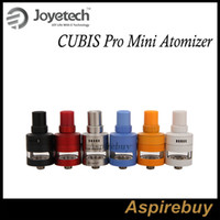 applied metals - New Joyetech CUBIS Pro Mini Atomizer ML Tank with Leak Resistant Cup Design Adjustment of Liquid Valve Top Filling Apply Multiple BF Heads