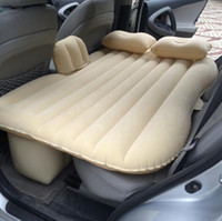 Wholesale 2016 Top Selling Car Back Seat Cover Car Air Mattress Travel Bed Inflatable Mattress Air Bed Good Quality Inflatable Car Bed