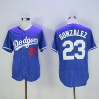 apparel los angeles - Los Angeles Dodgers Adrian Gonzalez Blue Jersey Cheap Men s Baseball Jerseys Embroidered Baseball Shirts High Quality Athletic Apparel