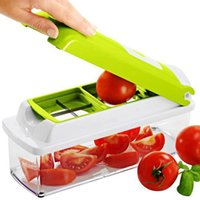Wholesale 12PC Set Kitchen Tool Vegetable Fruit Nicer Dicer Plus Slicer Cutter Plus Container Chopper Peeler