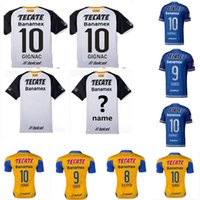 tiger print - Thai Quality Tigres UANL jersey Mexico club Tigers white soccer jersey shirt GUERRON GIGNAC DUENAS Football Shirt