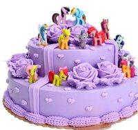 baking supplies sale - Baking cake decoration my little pony Wedding Cake Decorations Lovely cake Decorations Hot Sale Style