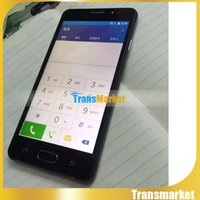 A5 5.0 pouces Android Phone Mtk6582 Quad Core 4 Go ROM Smart Phone double caméra WIFI logo Sealed Box Unlock Smart Phone nano carte SIM