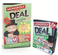 big monopoly - 2016 Monopoly Deal Card Game Funny Popular Board Game Set Toy for Kids with high quality