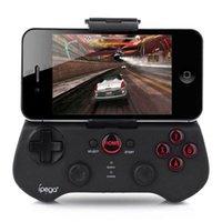Wholesale Ipega Gamepad Controller Wireless Bluetooth for iphone ipad Samsung Galaxy S7 S6 Edge S5 S4