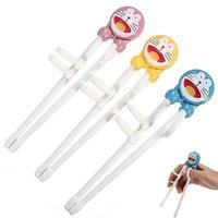 Wholesale Children Kids Easy Use Beginner Chopsticks Cartoon Training Helper Learning New