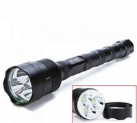 aluminum led flashligh - 2016 Hot Ultra strong light flashlight CREE T6 led aluminum alloy flashligh