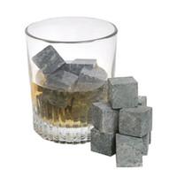 Wholesale New arrival hotsale whiskey stones velvet bag whisky rocks whisky stones beer stone whisky ice stone