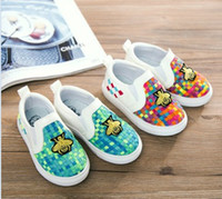 Wholesale Autumn Children Girls Boys Bee Knitted Design Candy Color Shoes Casual Breathable Kids Shoes Weaved Child Shoes Sneaker pair B4145