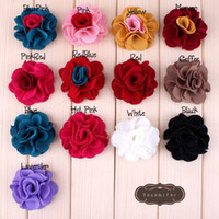 accessory clothing shoes - Vintage Multicolor Flowers Fit DIY KIDS Headband Hairclips Shoes Brooch Ornament Baby Girl Clothing Hair Accessories Rose Rosette D