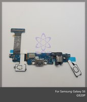 Wholesale 10PCS USB Dock Charging Charger Port Flex Cable Part for Samsung Galaxy S6 G920A G920F G920I G920P G920R4 G920S G920T G920V