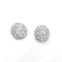 Wholesale 12pcs Ginger snap button charms mm round glitter plastic snap buttons for DIY snap button jewelry SHU0704