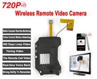 Wireless 720P HD espion caché mini-caméra Wifi Module DVR enregistreur vidéo IP