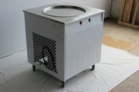 Wholesale cm pan electric stainless steel w fry ice cream commercial milk ice roll fried ice cream machine v v