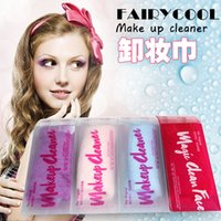 Wholesale HOT Makeup Eraser Magic Makeup Erasers Makeup Remover Towels professional Makeup Cleaning Towel remove makeup water Makeup Remover