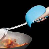 venda por atacado óleo de cozinha-Cozinhar luvas protetoras TPR proteção pessoal de isolamento truner pás tampa anti-óleo cozinhar ferramentas frete grátis z-361