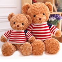 Wholesale 2016 Fashion Baby Plush Dolls PC CM cartoon teddy bear hug Bear Kids Plush Toy for Children Room Bed Decoration Toys