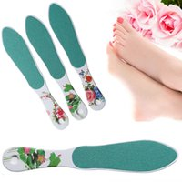 Wholesale 1PC Double Sided Foot Rasp Washable Sanding File Callus Dead Skin Remover Foot File Imitation Ceramic Tools For Foot Pedicure