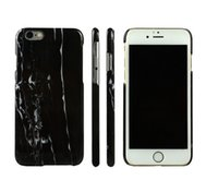 Cheap iPhone 7 Hard PC marble phone case for iPhone7 5 5S SE 6 6S 7S plus ultra slim bumper case