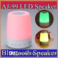 ambient mood light - Smart Bluetooth Speaker with Colorful Mood lamp Touch Atmosphere lamp support SD card Hands free ambient lights wireless speaker J YX