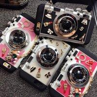 all'ingrosso camera leica-Corea creativi iPhone6s coperture del telefono mobile 5.5 di Apple 6plus stereo silicone manicotto protettivo Leica Camera