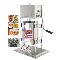 Wholesale Upright type deluxe stainless steel L Spanish Churro Machine hand operated Commercial Churros Maker Capacity Liters