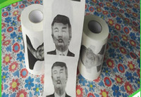 Wholesale For Fun Carbonate Mud Mask Hillary Clinton Donald Trump Barack Obama Toilet Paper Novelty Funny Toilet Paper Chiristmas Gag Gift